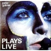 Peter Gabriel Plays Live USA 2-CD album set
