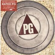 Peter Gabriel Rated PG - Half Speed Mastered UK vinyl LP