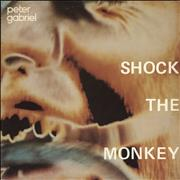 Click here for more info about 'Peter Gabriel - Shock The Monkey - Reversed Labels'