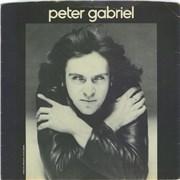 "Peter Gabriel Solsbury Hill + Picture Sleeve UK 7"" vinyl"