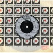"""Peter Gabriel Solsbury Hill UK 7"""" vinyl"""