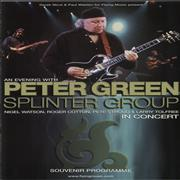 Click here for more info about 'Peter Green - An Evening With Peter Green Splinter Group'