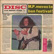 Click here for more info about 'Peter Green - Disc And Music Echo - July 1970'