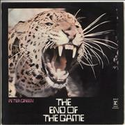 Click here for more info about 'Peter Green - The End Of The Game - 1st - EX'