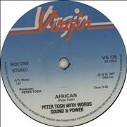 Click here for more info about 'Peter Tosh - African'