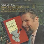 Click here for more info about 'Peter Ustinov - Babar The Elephant / The Little Tailor - Sealed'