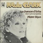 Click here for more info about 'Petula Clark - La Chanson D'Evita (Don't Cry For Me Argentina)'