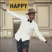 Click here for more info about 'Pharrell Williams - Happy - Yellow Vinyl'