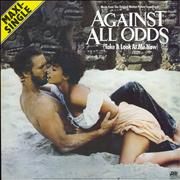 """Phil Collins Against All Odds Germany 12"""" vinyl"""