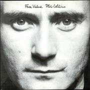 Phil Collins Face Value UK vinyl LP