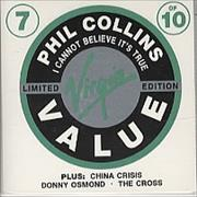 Click here for more info about 'Phil Collins - I Cannot Believe It's True'
