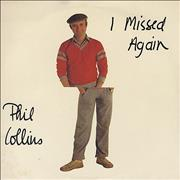 Click here for more info about 'Phil Collins - I Missed Again'