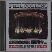 Click here for more info about 'Phil Collins - Serious Hits...Live!'