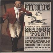 Click here for more info about 'Phil Collins - Serious Tour + four ticket stubs'