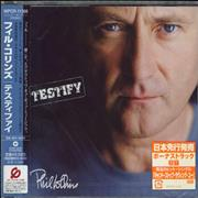 Click here for more info about 'Phil Collins - Testify - Sealed'