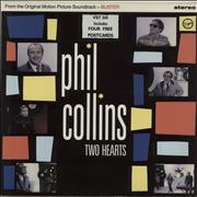 Click here for more info about 'Phil Collins - Two Hearts + Postcards'
