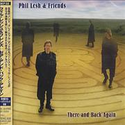 Phil Lesh There And Back Again Japan CD album Promo
