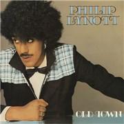 """Phil Lynott Old Town UK 7"""" vinyl"""