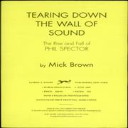 Click here for more info about 'Phil Spector - Tearing Down The Wall Of Sound'