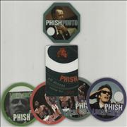 Click here for more info about 'Phish - Collection Of Satin Tour Passes'