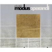 Photek Modus Operandi UK CD single Promo