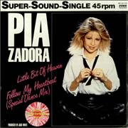 Click here for more info about 'Pia Zadora - Little Bit Of Heaven - Pink Vinyl - Sealed'
