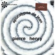Pierre Henry Apocalypse De Jean - Volume II France vinyl LP