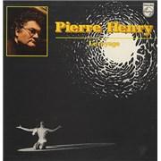 Pierre Henry Le Voyage France vinyl LP