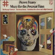 Pierre Henry Mass For The Present Time - wol UK vinyl LP