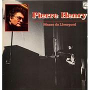 Pierre Henry Messe De Liverpool France vinyl LP