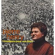 Pierre Henry Musiques Pour Une Fête France vinyl LP