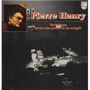 Pierre Henry Variations Pour Une Porte Et Un Soupir France vinyl LP