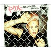 Click here for more info about 'Pink - Don't Let Me Get Me'