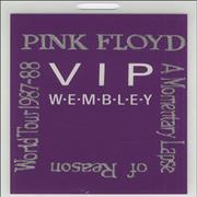 Click here for more info about 'Pink Floyd - A Momentary Lapse Of Reason Tour Pass'