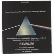 Click here for more info about 'Pink Floyd - Dark Side Of The Moon - The First And Last'