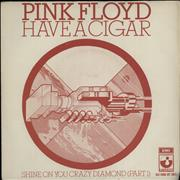 Click here for more info about 'Pink Floyd - Have A Cigar - P/S'