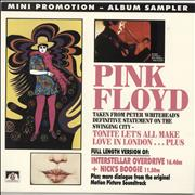 Click here for more info about 'Pink Floyd - Mini Promotion - Album Sampler - EX'