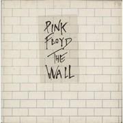Pink Floyd The Wall - 2nd + Sticker - VG UK 2-LP vinyl set