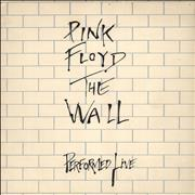Click here for more info about 'Pink Floyd - The Wall Performed Live - Wall Cover - EX'