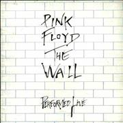 Click here for more info about 'Pink Floyd - The Wall Performed Live - White Wall Cover + Ticket Stub'