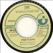 Click here for more info about 'Pink Floyd - Time - Plain Sleeve'