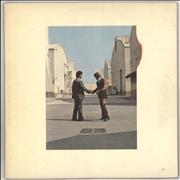 Pink Floyd Wish You Were Here + Postcard, poster & Both Shrink Stickers Japan vinyl LP