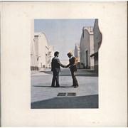Pink Floyd Wish You Were Here - 1st + Postcard - EX UK vinyl LP
