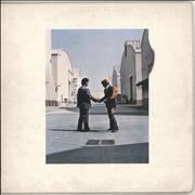 Click here for more info about 'Pink Floyd - Wish You Were Here - 1st + postcard - VG'