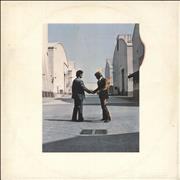 Pink Floyd Wish You Were Here - 1st - VG UK vinyl LP