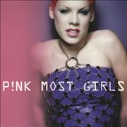 Click here for more info about 'Pink - Most Girls'