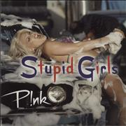 Click here for more info about 'Pink - Stupid Girls + DVD-R'