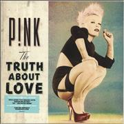 Click here for more info about 'Pink - The Truth About Love - Mint Green Vinyl - Sealed'