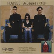 Click here for more info about 'Placebo - 36 Degrees'