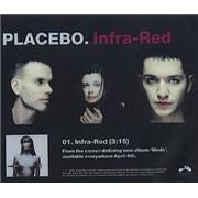 Placebo Infra-Red USA CD-R acetate Promo